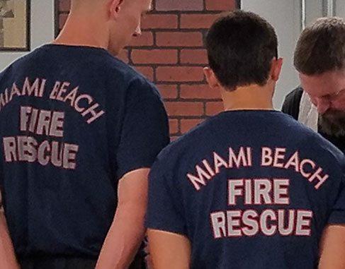 Rescue Task Force Training Miami Beach FD