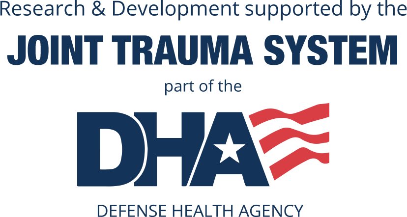 Research nd development supported by the Joint Trauma Center part of the DHA - TRIALING INNOVATIVE LEARNING TO IMPROVE MEDICAL READINESS